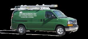 Hunter-Davisson - Green Van