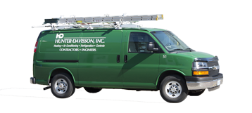 Hunter-Davisson - Green Van